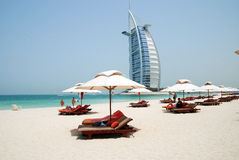 Dubai beach Stock Image