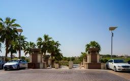 dubai Im Sommer von 2016 Oase des Hotels Park Hyatt Abu Dhabi auf dem Persischen Golf, Abu Dhabi Stockfoto