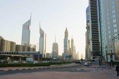 Dubai im Stadtzentrum gelegen Lizenzfreies Stockfoto
