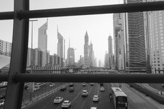 Dubai im Stadtzentrum gelegen Stockfotografie