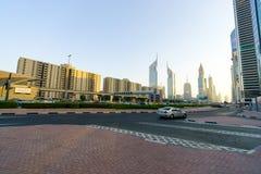 Dubai im Stadtzentrum gelegen Lizenzfreie Stockfotografie