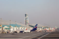Dubai International Airport Royalty Free Stock Image