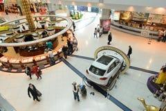 Dubai International Airport interior Royalty Free Stock Photo