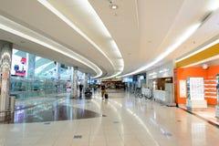Dubai International Airport interior Stock Photo