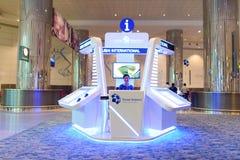 Dubai International Airport interior Royalty Free Stock Images