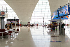 Dubai International Airport interior Stock Photography