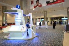 Dubai International Airport interior Stock Image