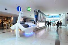 Dubai International Airport interior Royalty Free Stock Photography