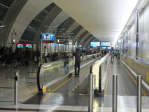 Dubai International Airport in the UAE Stock Photo