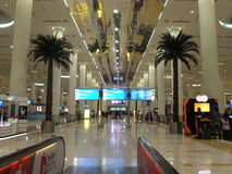 Dubai International Airport in the UAE Stock Image