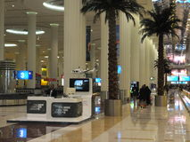 Dubai International Airport in the UAE Royalty Free Stock Photography