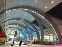 Dubai International Airport in the UAE Stock Photography
