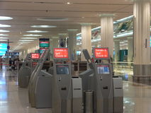 Dubai International Airport in the UAE Royalty Free Stock Images