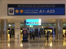 Dubai International Airport in the UAE Stock Photos