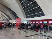 Dubai International Airport in the UAE Stock Images