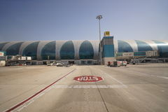 Dubai International Airport Royalty Free Stock Images