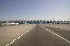 Dubai International Airport Royalty Free Stock Photography