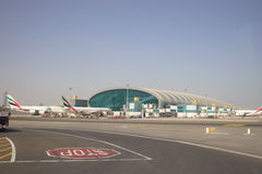 Dubai International Airport Royalty Free Stock Photos