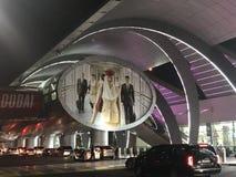 Dubai International Airport in the UAE royalty free stock photo