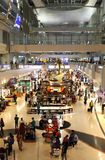 Dubai International-Flughafen ist eine bedeutende Luftfahrtnabe im Midd Stockbild