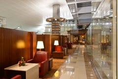 Dubai International-Flughafeninnenraum Lizenzfreie Stockbilder