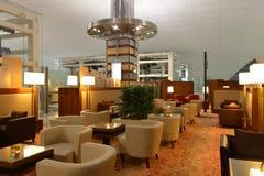 Dubai International-Flughafeninnenraum Stockfotografie
