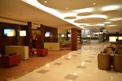 Dubai International-Flughafeninnenraum Lizenzfreie Stockfotografie