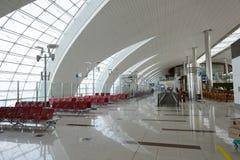 Dubai International-Flughafeninnenraum Stockbild