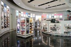 Dubai International-Flughafeninnenraum Stockfoto