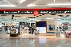 Dubai International-Flughafeninnenraum Lizenzfreies Stockfoto