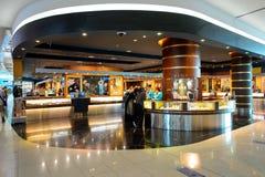 Dubai International-Flughafeninnenraum Stockbilder