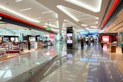 Dubai International flygplatsinre Arkivfoton