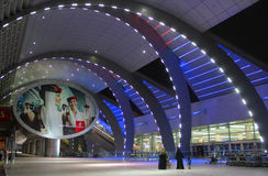 Dubai International flygplatsterminal 3 Royaltyfria Bilder