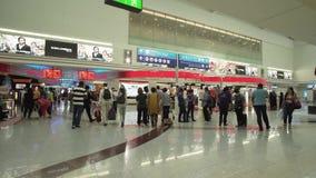 Dubai International lotniska zapasu materiału filmowego wideo zbiory wideo