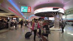 Dubai International lotniska zapasu materiału filmowego wideo zdjęcie wideo