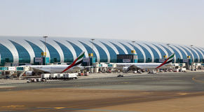 Dubai International lotnisko zdjęcia stock
