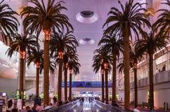 Dubai International lotnisko, Dubaj, Zjednoczone Emiraty Arabskie zdjęcie stock