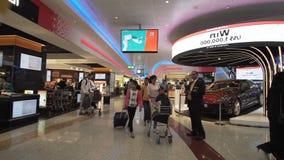 Dubai International lotnisko jest początkowym lotniskiem międzynarodowym słuzyć Dubaj i jest światowym ` s, Zjednoczone Emiraty A obraz royalty free