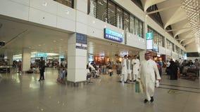 Dubai International lotnisko jest początkowym lotniskiem międzynarodowym słuzyć Dubaj i jest światowym ` s, Zjednoczone Emiraty A zdjęcie royalty free