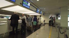 Dubai International lotnisko jest początkowym lotniskiem międzynarodowym słuzyć Dubaj i jest światowym ` s, Zjednoczone Emiraty A obrazy stock