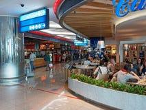 Dubai International lotnisko, odjazdy zdjęcie stock