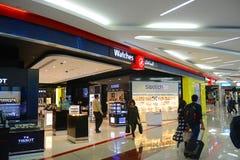 Dubai International lotnisko, UAE obraz royalty free