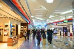 Dubai International lotnisko, UAE zdjęcia royalty free