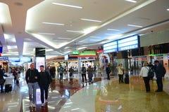 Dubai International lotnisko, UAE obrazy royalty free