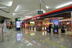 Dubai International lotnisko, UAE obrazy stock