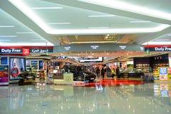 Dubai International lotnisko, UAE zdjęcia stock