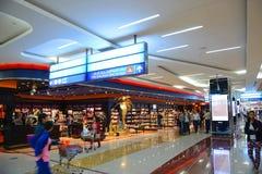 Dubai International lotnisko, UAE fotografia stock