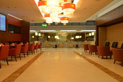Dubai International-Luchthavenbinnenland Royalty-vrije Stock Foto's