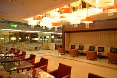 Dubai International-Luchthavenbinnenland Stock Afbeeldingen