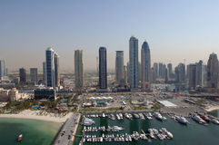 Dubai International Marina Club, DIMC immagine stock